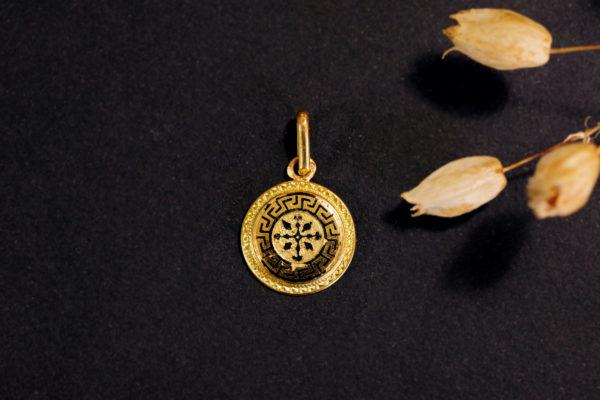 pendentif croix vintage bijou occasion