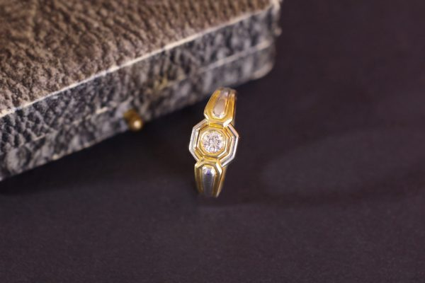 bague occasion diamant mariage or jaune or blanc